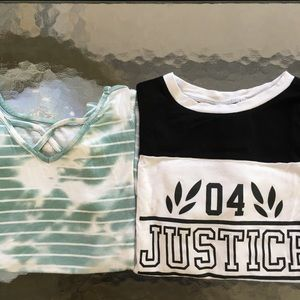 Justice Tops (2) 6/7